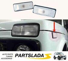2 pcs White Turn Signals Lada Niva 2121 21214 TAIGA URBAN BRONTO, 2106