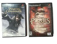 PlayStation 2 Pirates of the Caribbean & Pirates Legend of the Black Buccaneer