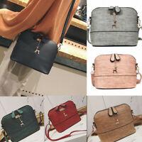 Fashion Women Messenger Bag Leather Handbag Casual Packet Satchel Zipper Ladies