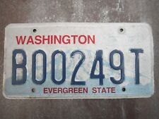 Washington (B00249T) American License Number Plate Collecting Craft Hobby
