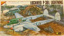 Nichimo 1/48 Lockheed P-38L Lightning USAF Fighter 4810