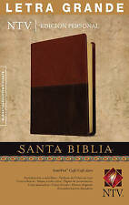 Letra Grande Biblia-Ntv-Personal by Tyndale House Publishers (Leather / fine binding, 2014)