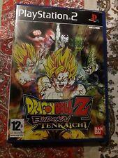 JUEGO DE PS2 DRAGON BALL Z BUDOKAI TENKAICHY COMPLETO