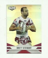 2013 NRL ESP ELITE MANLY SEA EAGLES PARALLEL P54 BRETT STEWART CARD FREE POST