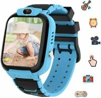 Kids Smart Watch for Boys, Toddler Watch for Kids Educational, USB Charge (Blue)