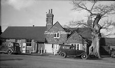 B/W Negative Newdigate Surrey Oaks Inn Pub 1946 +Copyright DB893