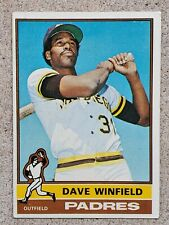 DAVE WINFIELD 1976 TOPPS BASEBALL CARD #160 SAN DIEGO PADRES RARE VINTAGE SPORTS