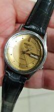 Vintage Seiko 5 Automatic 7009 Mens 17J Watch Original Dial Case Crown Movement