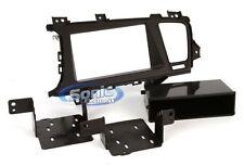 Scosche KA2411B Single/Double DIN Install Dash Kit for Select 2011-13 Kia Optima