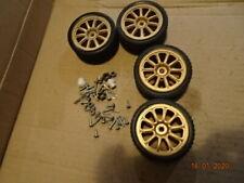 Bycmo DeAgostini SUBARU Ruedas y Neumáticos montajes de rueda Tornillos x4 X4 1/10 Escala