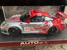 AUTOART 80673 PORSCHE 911 996 GT3 RSR ALMS GT2 '06 FLYING LIZARD 1/18