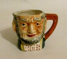 """Vintage Porcelain 3"""" Toby Mug Creamer Made in Occupied Japan """"Abraham Lincoln"""""""
