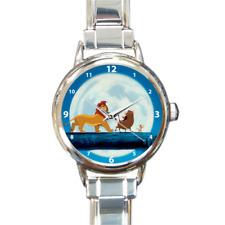 The Lion King Simba Timon and Pumbaa Hakuna Matata Italian Charm Wrist Watch