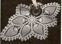 Vintage Crochet Centerpiece 8 Pineapple Doily PATTERN ONLY