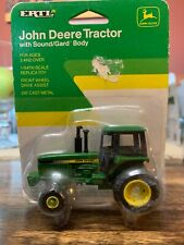 Ertl 1 64 John Deere Tractor With Sound/guard Body Farm Toy