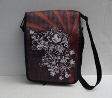 Walt Disney Messenger Bag Black Mickey Mouse Bag~ Rare