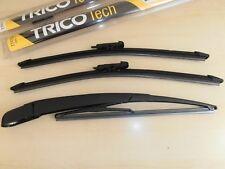 (3set)TRICO MERCEDES ML M Class (W164)  2005-2011 WIPER BLADE FRONT + REAR ARM