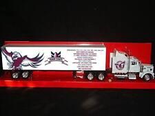 Manly Warringah Sea Eagles Custom Kenworth W900 Rugby League Stats Truck 1/43