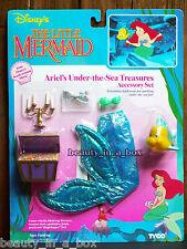 Ariel's Under the Sea Treasures Accessory Set Little Mermaid Ariel Tyco Doll