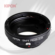 Kipon Shift Adapter for Pentax 645 P645 Mount Lens to Canon EOS EF Mount Camera
