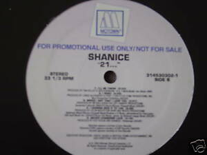 SHANICE 21... LP 1994 MOTOWN 3145303021 DJ PROMO