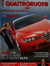 Quattroruote 593 2005 Brera e Alfa 159. Prossima Yaris. Ferrari 430 Spider Q.66
