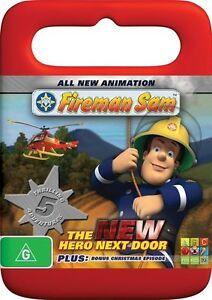 101🆕sealed-Fireman Sam: The New Hero Next Door DVD R4