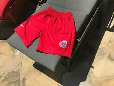 Chicago Cubs Shorts with 2 Side Pockets/1 Rear Pocket Cotton/Poly Red Large