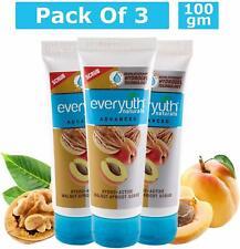 Everyuth Naturals Advanced Hydrating & Exfoliating Walnut Apricot Scrub 100g x 3