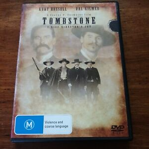 Tombstone Director's Cut DVD R4  - FREE POST
