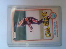 Jari Kurri @ Edmonton Oilers rookie card 1981-82 OPC #107 NM ungraded