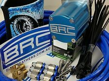 Diff Breather Kit -  COMPETITION BRC 6 Port Cartridge Filter - Blue