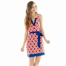 NEW GAMEDAY DRESS LARGE 12-14 Sundress Navy/Red by Mud Pie