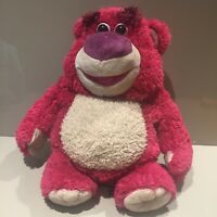 "Disney Toy Story 3 Talking Lotso Huggin Bear Soft Plush-Thinkway Toys 14"" Pixar"