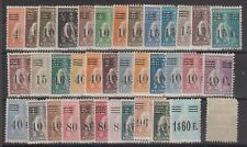 """Portogallo 1928/29 Serie Cerere, 37 valori linguellati - 1238 """"2"""