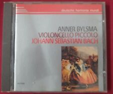 BACH - Cello Piccolo Works ANNER BYLSMA DHM German SONOPRESS CD NO IFPI