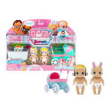 Baby Secrets Rocking Pram Pack - Colour Changing Nappy Gender Reveal Toys