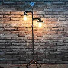 Industrial Urban Rust Iron Art Steel Water Pipe Floor Lamp Loft Aged Hotel Light