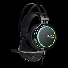 BEST Gaming Headset ZIDLI ZH11 7.1 Surround Sound Stereo  for PS4, PC, Xbox