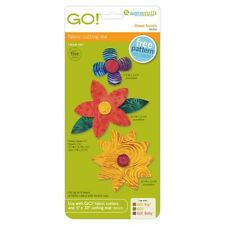 AccuQuilt GO! Fabric Cutting Die Flower Bunch 55332 Quilting Sewing