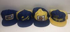 Dale Earnhardt Sr Lot Of 4 Vintage Hats Caps NASCAR Rare SnapBack Autographed