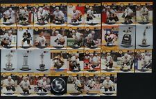1990-91 Pro Set Boston Bruins Team Set of 35 Hockey Cards Missing 2 Cards