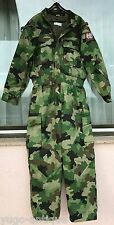 Yugoslavia Serbia Army Kosovo War Military Police special camo coverall jumpsuit