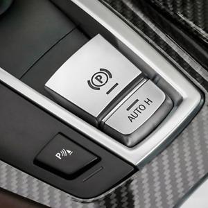 For BMW 5 Series F10 F15 F16 Electronic Handbrake H Button Trim Cover Chrome