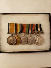 New listing British Wwi & Wwii 5-Medal Group, Staff Sergeant C Dickerson A.O.C.