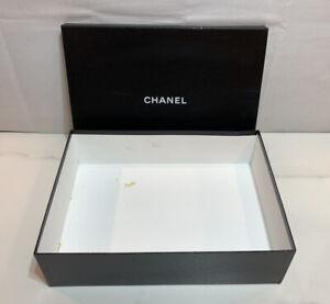 "Authentic Chanel Large Empty Storage Box 17.5"" x 13"" x 4.5"""