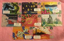 Starbucks Pilipinas Yogyakarta Jakarta Indonesia Thailand Bali Surabaya Card Set