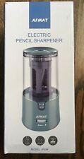 Afmat Electric Pencil Sharpenerauto Stop Super Sharp Amp Fast