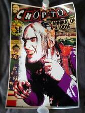 Texas Chainsaw Massacre 2 Chop Top Poster Bill Moseley House of 1000 Corpses FUN