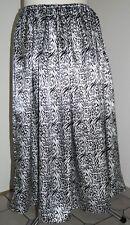 Satin-Rock lang Gr.48/50/52/54/56 - satin-skirt long UK 24,26,28,30 US 2X,3X,4X